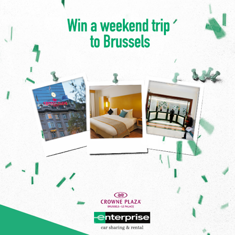 Enterprise Rent-A-Car Netherlands-Crown Plaza Brussels
